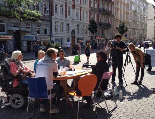 DemokraTisch in Hamburg.