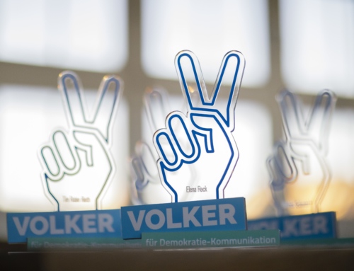 Europäische GeDanken – die Gewinnerkampagne des VOLKER 2019 Wettbewerbs